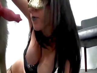 Very hot doggy fucked her wide-opened twat on the cam
